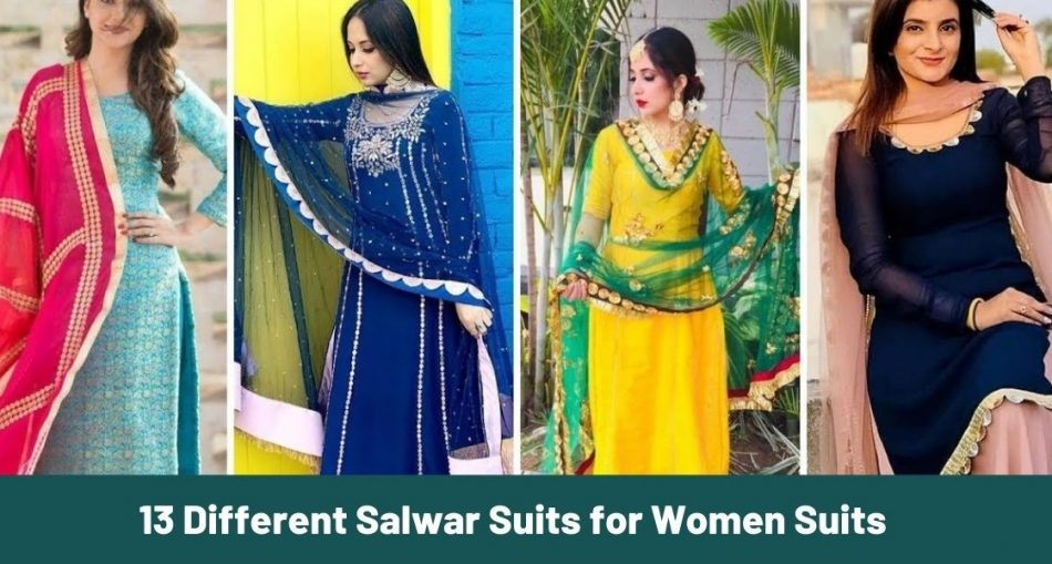 13 Different Salwar Suits for Women-Global Unzip