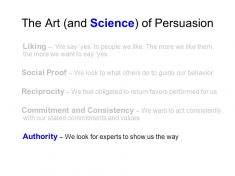 Understanding The Science Of Persuasion