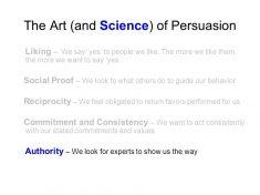 Understanding The Science Of Persuasion